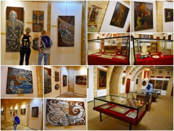 Three art exhibitions open to the public at the Cittadella Cultural Centre