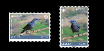 Blue Rock Thrush features on new National Birds stamp set