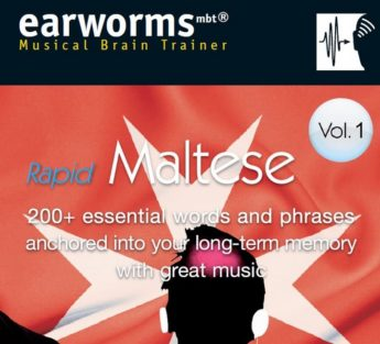 Rapid Maltese: Earworms Musical Brain Trainer that teaches Maltese