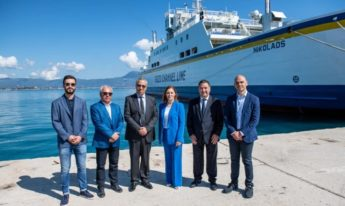 Gozo Channel takes delivery of its fourth ship - the Nikolaos