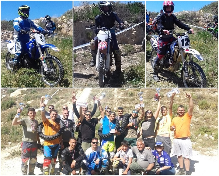 21 riders participate in the Gozo Enduro Rally 2019 at Xwejni