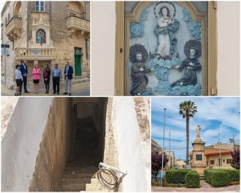 Work on historical niche inaugurated and three sites to be restored