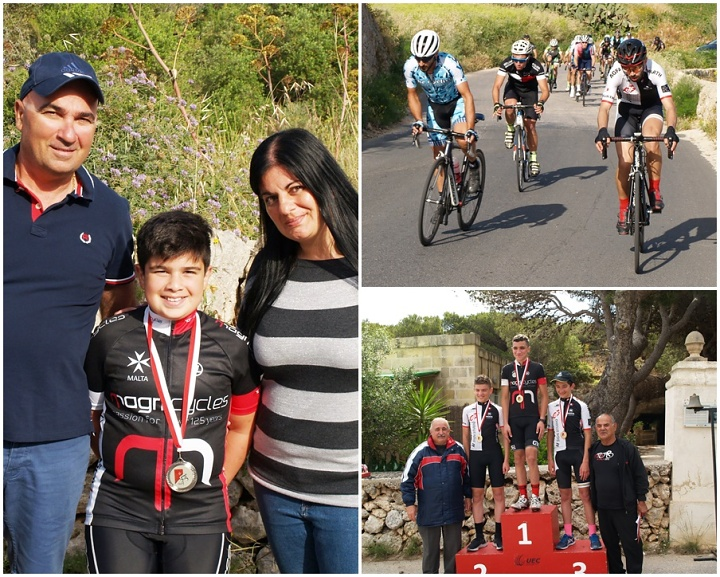 Double cycling success for Gozitan brothers Brandon and Darren Sultana