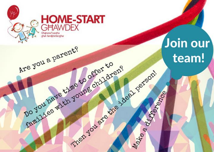 Home-Start Ghawdex is looking for more volunteers to help families in Gozo