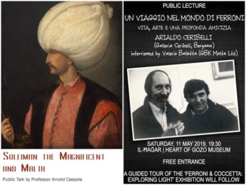 Lecture and interview - Two cultural events at Il-Hagar this Saturday