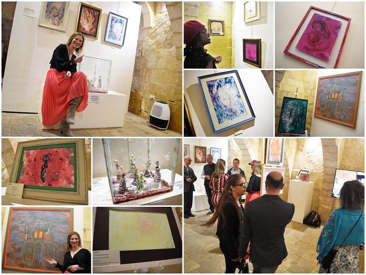 My Treasure Island: Art exhibition by Izabela Klara Biskupska