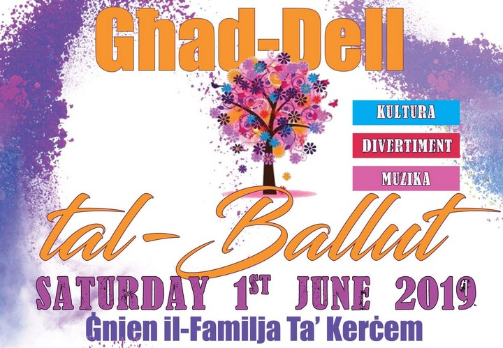 Ghad-dell tal-Ballut - Family event in Kercem, crafts, food, entertainment and more...