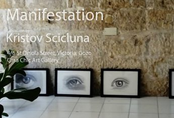 Manifestation: Gozitan Kristov Scicluna in his first exhibition