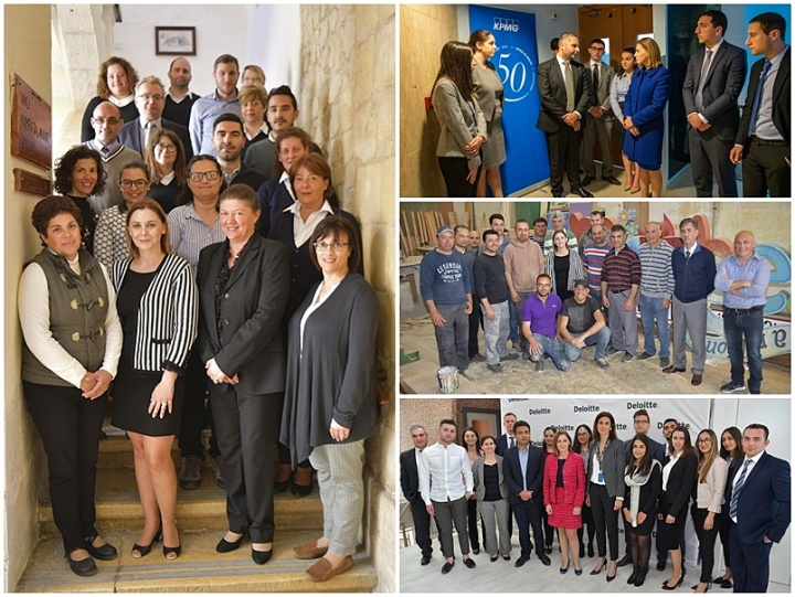 Labour Day: Gozo Minister visits Ministry departments and private sector