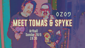 Meet Thomas & Spyke this Sunday at Arthall and hear about OZOG