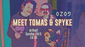 Meet Thomas & Spyke this Sunday at Arthall and hear about OZOG