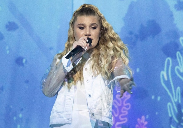 Michela through to Eurovision Song Contest and will perform first