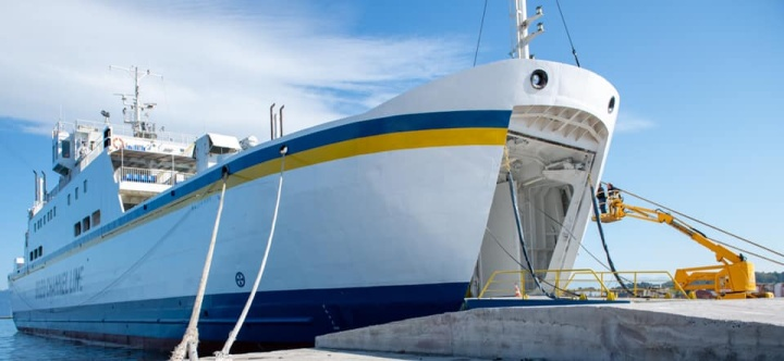 Gozo Channel's 4th ferry the Nikolaos arriving to join the fleet this week