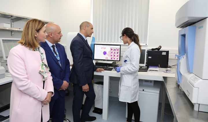 New Clinical Laboratory inaugurated at the Gozo General Hospital