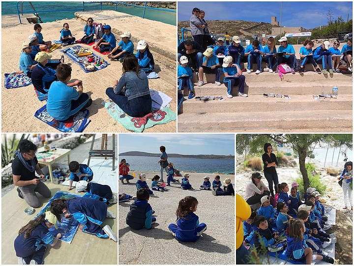 Qala primary students enjoy an educational day out at Hondoq Bay