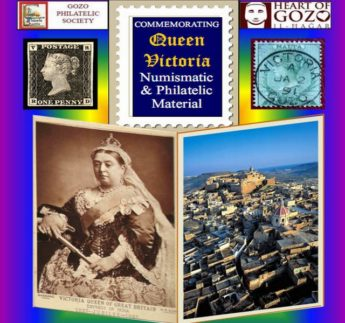 Philatelic look at Queen Victoria on display at Il-Hagar Museum, Gozo
