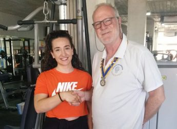 Rotary Club of Gozo presents Vocational Grant to Krista Grech