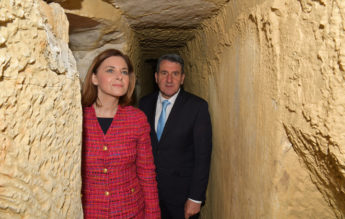 Restoration of Santa Lucija water aqueduct tunnels inaugurated