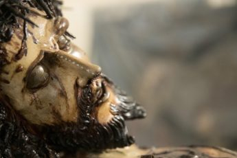 Ta' Giezu Crucifix conservation at restoration project completed