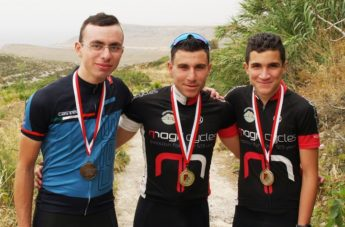 More success for Gozitan cyclists, this time on the Ta' Pinellu circuit