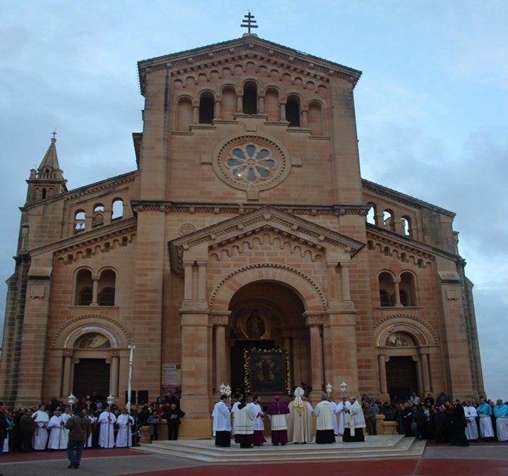 Ta' Pinu Thanksgiving Mass for Police for the Marian Year in Gozo