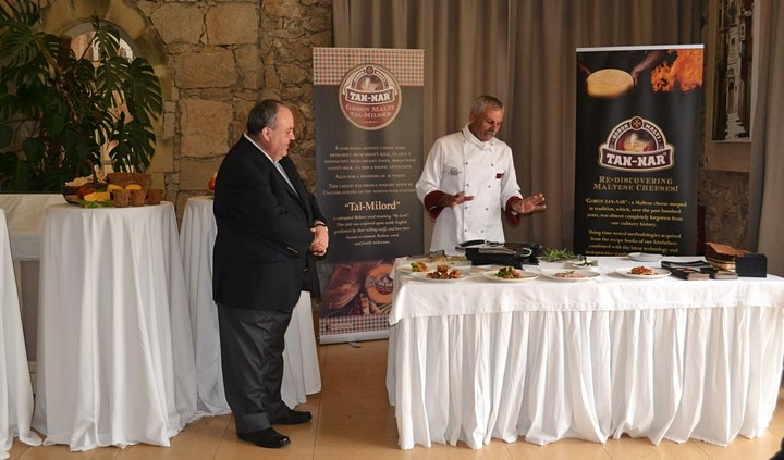New artisan cheese launched in Gozo - Gobon Malti tal-Milord