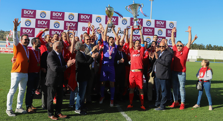 Victoria Hotspurs win BOV GFA Cup for the first time since 1998