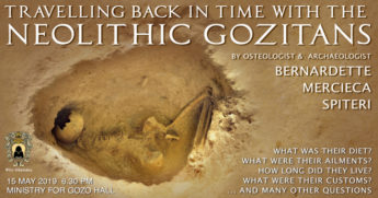 Change of venue for Travelling Back in Time with the Neolithic Gozitans