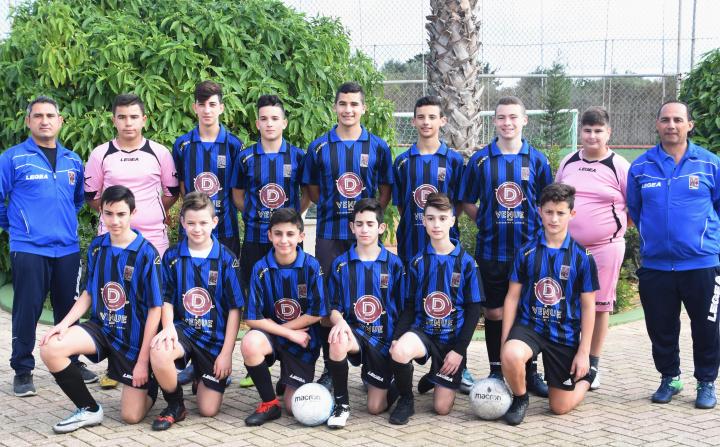 Xaghra United U15 win Gozo Youth Football Association K.O. Final