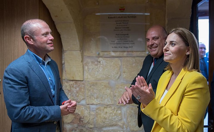 Prime Minister inaugurates new offices of the Xewkija Local Council