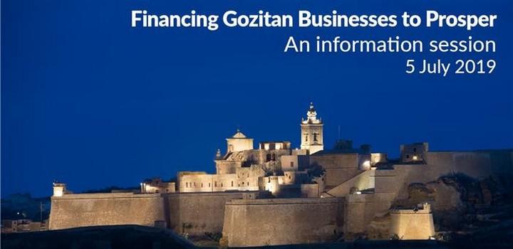 Financing Gozitan Businesses to Prosper- Gozo information session
