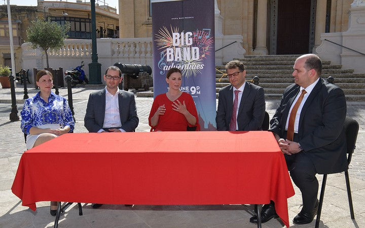 Big Band Adventures - official launch of Saturday's Nadur concert
