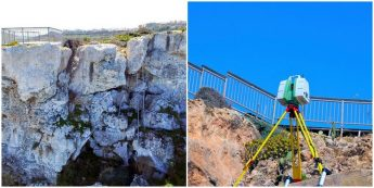 3D Laser scans and photogrammetric surveys done on Calypso Cave