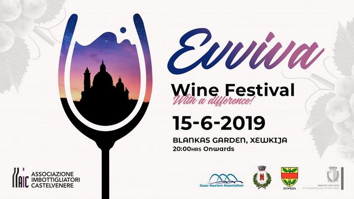 Evviva Wine Festival - Italian wines and local food at Ta' Blankas Garden