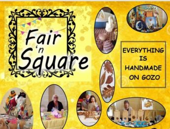 June edition of the Fair 'n Square artisan fair is this Saturday in Gharb