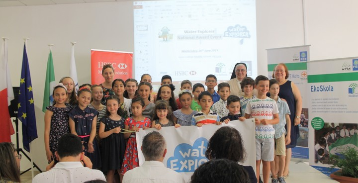 Two Gozo schools come top in the Water Explorer Programme