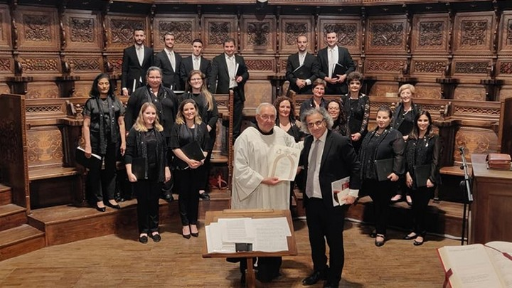Gaulitanus Choir return from concert tour to Assisi and Rome