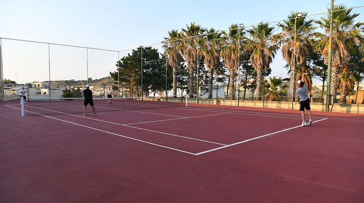 New Kercem tennis court open through €100,000 investment