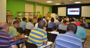 Local farmers learn about new projects from Magro Bros and the ARA