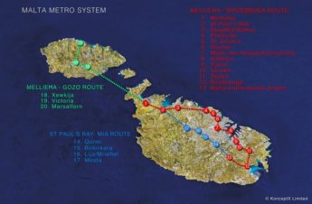 Gozo -Malta metro proposal presentation - change of venue