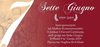 Gozo to commemorate 100th anniversary of Sette Giugno next Sunday