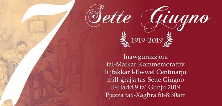 100th anniversary of Sette Giugno being celebrated in Gozo on Sunday