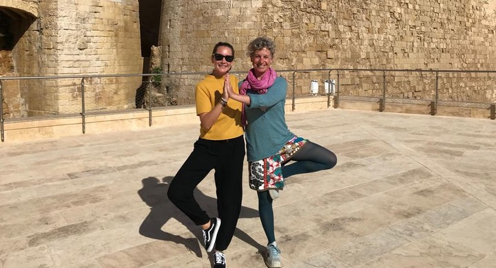 Experience a yoga session at the Citadel and help Gozo SPCA animals