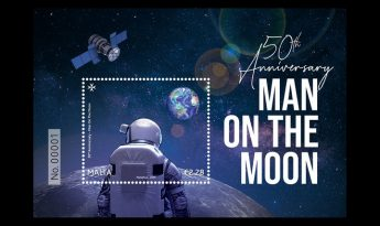 MaltaPost marks the 50th anniversary landing of man on the moon