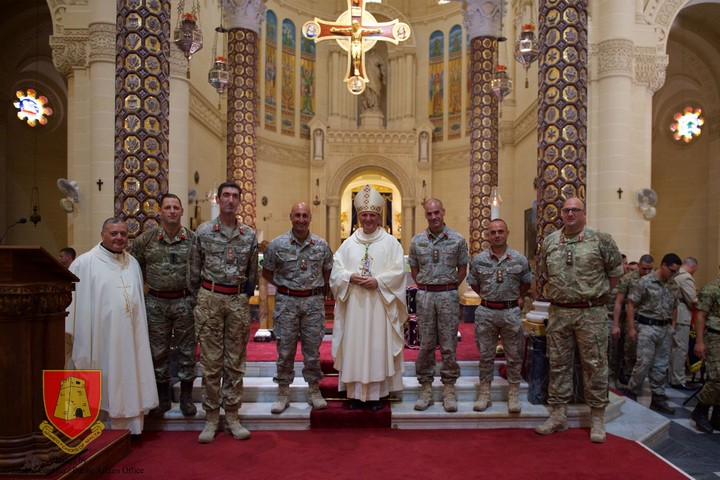 Soldiers are the agents of security and freedom of peoples - Bishop Grech