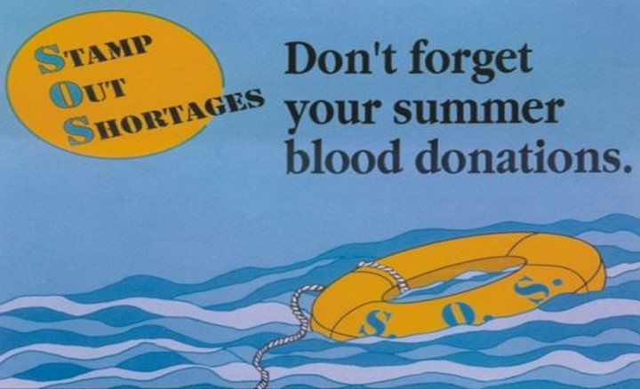 Help meet the constant demand for blood during the summer months