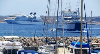 Number of cruise passengers visiting Gozo down by almost half