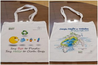 Santa Marta clients design bags for Gozo's plastic free bag campaign