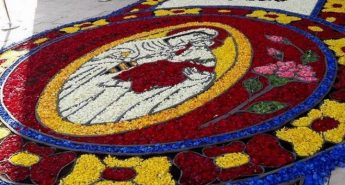 Gharb feast celebrations and 18th edition of the Infiorata