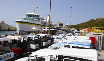 Almost 1.6 million passengers crossed on Gozo ferries in second quarter
